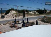 Frente al mar y playa  rambla   in parque del plata