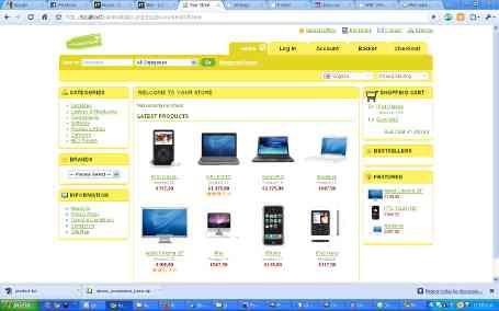Su tienda online desde 200 pesos mensuales.