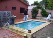 piscinas escobar constrye barbacoas,yacuzzi,venta de spa equipamientos