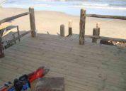 Construcciòn y mantenimiento en madera