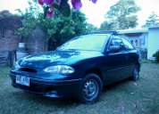 Hyundai accent 1.3 unico dueÑo 170.000 km muy bien aÑo 1998, tel  2400 2010, 2682 7008