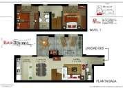 Vendo departamento duplex de 2 dormitorios y 2 banos en montevideo con hogar  y parrillero