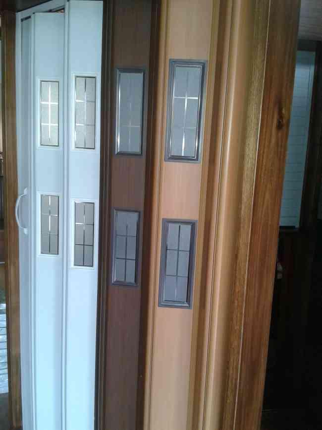 Puertas plegables de pvc puertas plegables peru puertas plegables de pvc puertas plegadizas Puertas de aluminio plegables