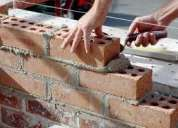 Albañiles profecionales al servicio de la construccion