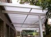 techos en policarbonato y zinc