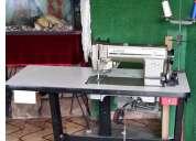 Máquina industrial de coser singer