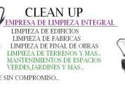 Clean up limpieza integral
