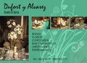 Realizamos arreglos florales - eventos - fiestas