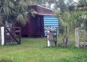 Cabana en arachania a 100mts del mar para 4 personas