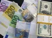 Oferta de préstamo de dinero en 48h