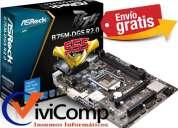 Motherboard asrock b75m-dgs r2.0 socket lga1155 envio gratis