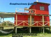 Construcciones galtech rocha uruguay.cabañas de maderas