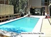 Constructor//construcción de piscinas la pedrera galtech