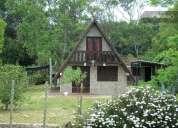 cabana de material para 6 personas