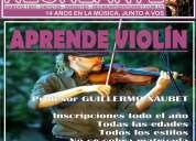 Clases de violÍn en escuela de música recrearte