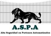 A.s.p.a  alta seguridad en portones automatizados