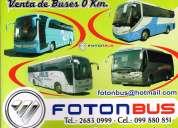 Foton omnibus oportunidad del 0 km 32 asientos y 42 asientos