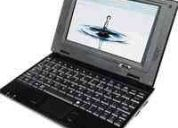 Netbook notebook 7 laptop-wifi- windows ce-usb-2 gb msn