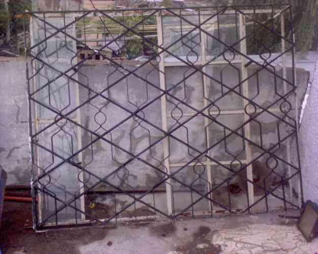 Ventana de hierro con rejas incorporada montevideo for Hogar muebles montevideo