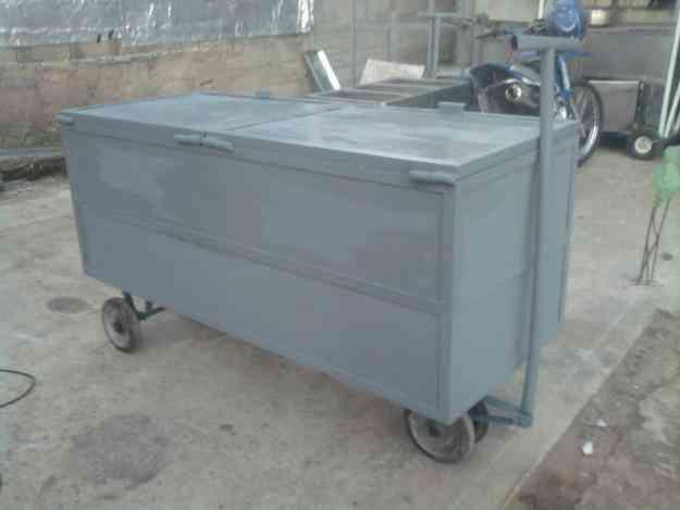 Vendo zorra tipo baul para herramientas o transporte de - Baules con ruedas ...