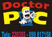 Doctor pc uruguay servicio tecnico pc a domicilio para computadoras maldonado y venta pcs