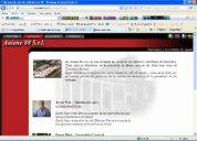 Diseño de páginas web a solo 2000 pesos