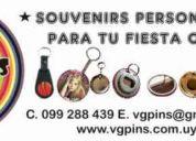 Imanes, pins, llaveros, destapadores y espejos en uruguay