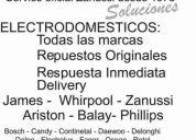 Service james enxuta fagor candy continental y venta de repuestos.