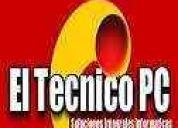 servicio técnico reparación pc notebook redes a domicilio
