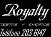 Alquiler de carpas uruguay, carpas royalty uruguay