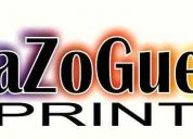 Centro de impresión y diseño azogue print