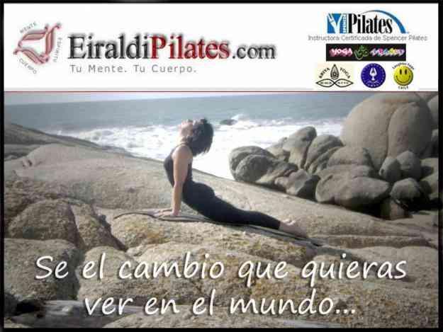 Cursos de pilates mat yoga fitness embarazo y esferodinamia en