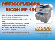 Fotocopiadora ricoh mp161