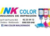 Ink color insumos de impresion