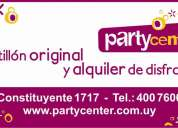 Alquiler de disfraces - party center