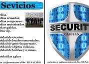 servicio de seguridad