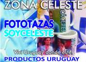 Productos uruguay mundial brasil remeras bufandas tazas llaveros cotillÓn