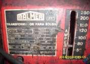 """Soldadora 250 amperes,""""balmer"""" c/casco /soldador."""