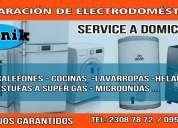 Services reparacion de electrodomesticos( estufas, calefones, cocinas, lavarropas, lcd,..)