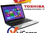 Notebook toshiba c45 i3 3110m 2.4ghz win 8 4gb 750gb envios