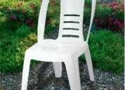 Alquiler de sillas, mesas y vajilla. confiteria para 15 años y casamientos