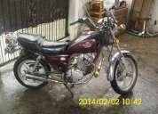 Vendo o permuto moto quianjiang motor hecho a150 $ 10000