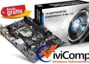 Motherboard asrock b85m-hds intel socket 1150 envio gratis