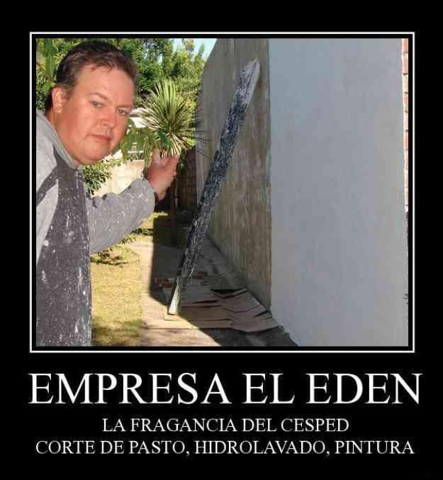 """El Eden """"La fragancia del cesped"""""""