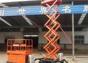 Alquiler de plataforma elevadora tijera