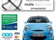 alquiler de auto económico ~ 16 km/litro ciudad - 20 km/litro carretera
