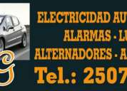 Electricidad automotriz local o domicilio