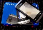 Nokia asha 306, celular libre . para reparar