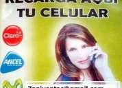 Recargas de celulares para comercios