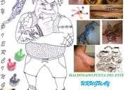Tatuajes a domicilio maldondo-punta del este